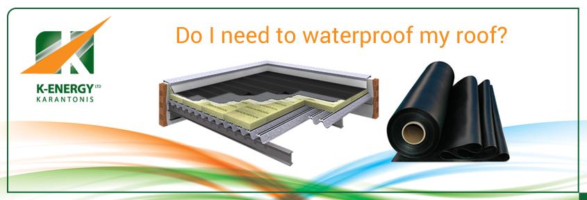 Υγρομόνωση ταράτσας Κύπρος, Roof Waterproofing
